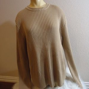 J Crew Cotton Classic Sweater  L